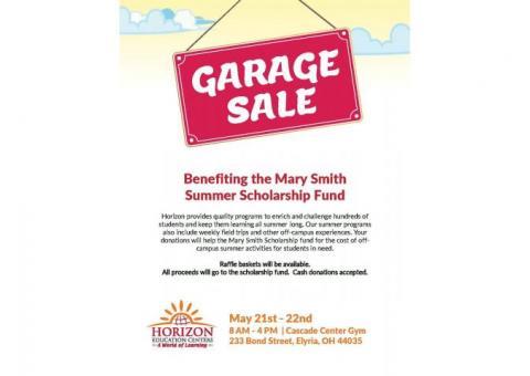 Mary Smith Scholarship Garage Sales